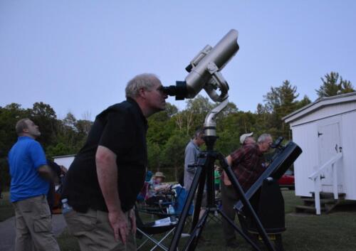 Apollo Rendezvous 2017 evening at John Bryan Observatory